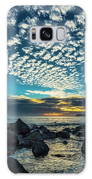 Mackerel Sky Galaxy Case