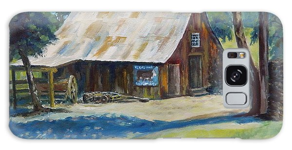 Mackey's Barn Galaxy Case by William Reed