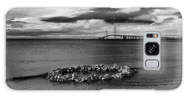 Mackinac Bridge - Infrared 03 Galaxy Case