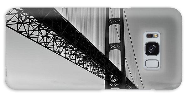 Mackinac Bridge At Sunset Galaxy Case