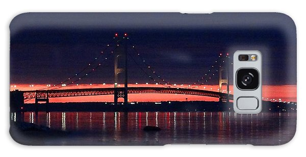 Mackinac Bridge On A June Evening Galaxy Case
