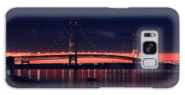 Mackinac Bridge On A June Evening Galaxy Case
