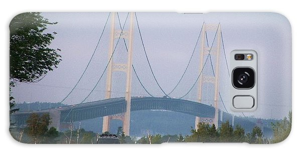Mackinac Bridge Galaxy Case