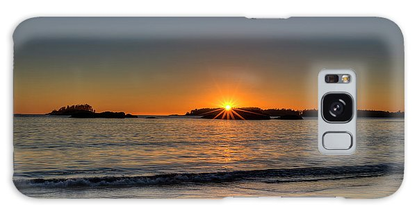 Mackinsie Beach Sun Burst Galaxy Case