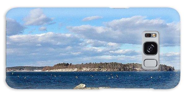 Mackworth Island Falmouth Maine Galaxy Case