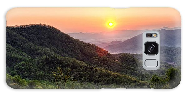 Macon County North Carolina Mountains Galaxy Case