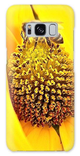 Macro Bee Galaxy Case