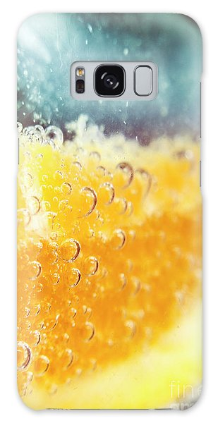 Martini Galaxy Case - Macro Detail On A Club Orange Cocktail by Jorgo Photography - Wall Art Gallery