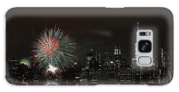 Macy's-july 4th 2015-fireworks-3 Galaxy Case by Steven Spak