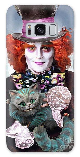 Mad Hatter And Cheshire Cat Galaxy S8 Case