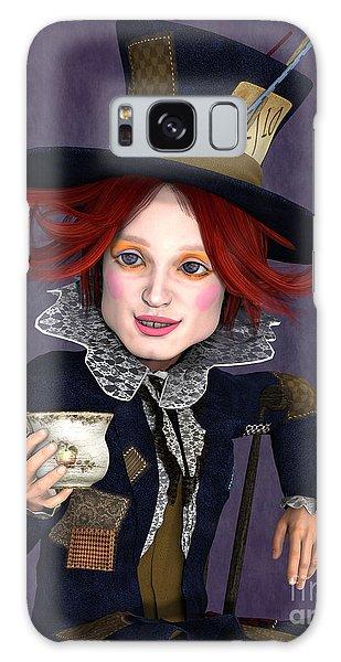 Mad Hatter Portrait Galaxy Case