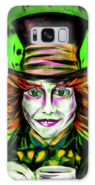 Mad Hatter Galaxy Case