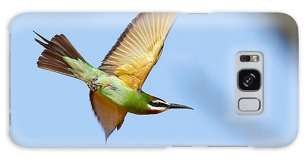 Madagascar Bee Eater In Flight Galaxy Case