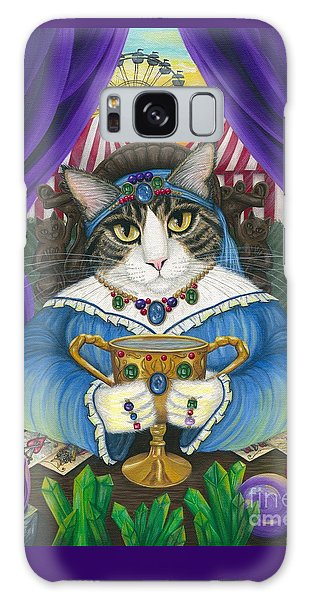 Madame Zoe Teller Of Fortunes - Queen Of Cups Galaxy Case