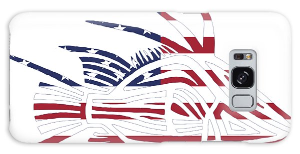 Made In The Usa Tribal Hogfish Galaxy Case