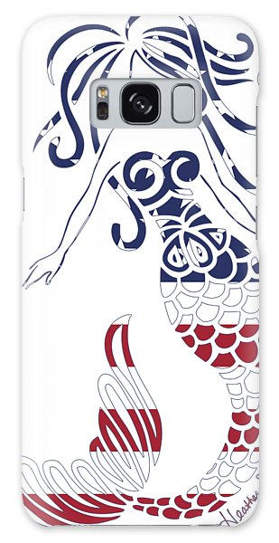 Made In The Usa Tribal Mermaid Galaxy Case