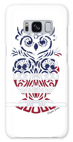 Made In The Usa Tribal Owl Galaxy Case