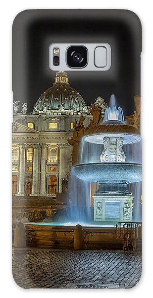 Maderno's Fountain Galaxy Case by Ed Cilley