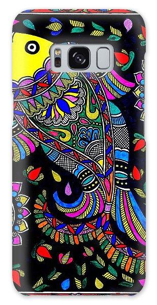 Madhubani Galaxy Case - Madhubani by Bijna Balan