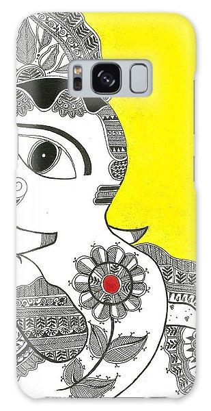 Madhubani Galaxy Case - Madhubani Ganesh 1 by Mrunal Limaye