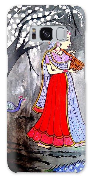 Madhubani Galaxy Case - Madhubani-indian Miniature by Namrata Patel