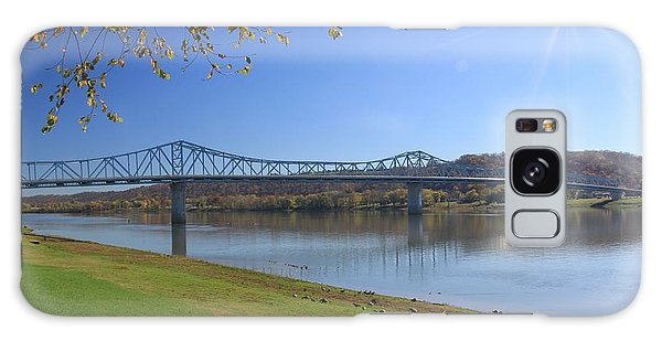 Madison, Indiana Bridge  Galaxy Case