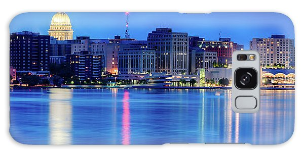 Madison Skyline Reflection Galaxy Case