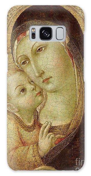 Gold Galaxy Case - Madonna And Child by Ansano di Pietro di Mencio
