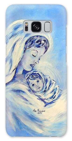Madonna And Child By May Villeneuve Galaxy Case