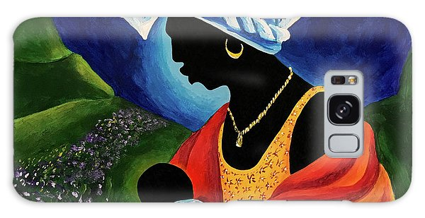 Earring Galaxy Case - Madonna And Child  Lily Field by Patricia Brintle