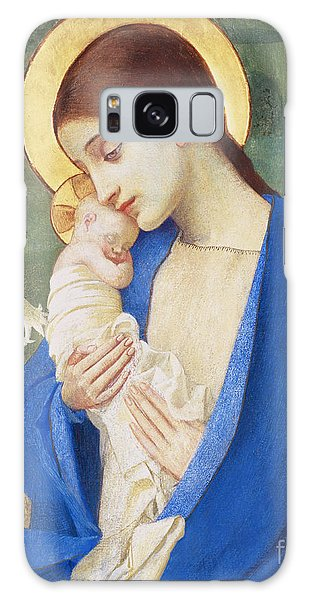 Religious Galaxy Case - Madonna And Child by Marianne Stokes