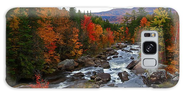 Magalloway River In Fall Galaxy Case