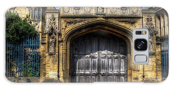 Magdalen College Door - Oxford Galaxy Case