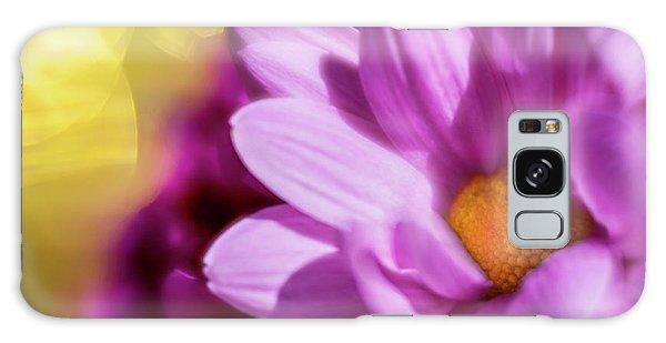 Magenta Floral Galaxy Case