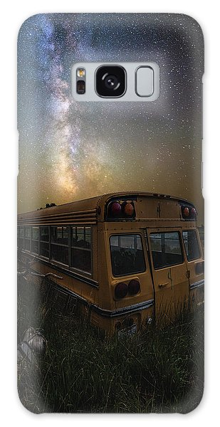 Galaxy Case featuring the photograph Magic Bus by Aaron J Groen