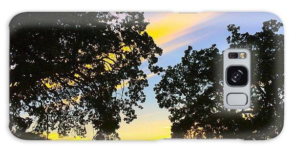 Magic Hour Sunset Galaxy Case