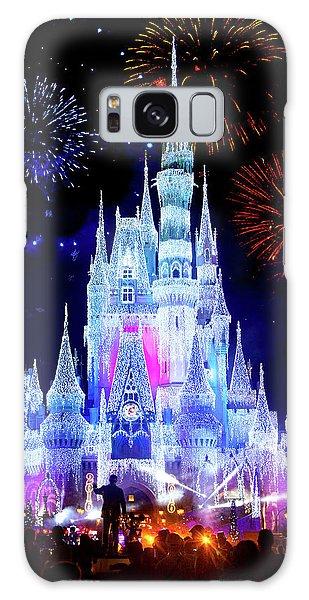 Walt Disney Galaxy Case - Magic Kingdom Fireworks by Mark Andrew Thomas