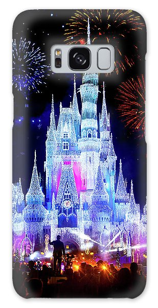 Magic Kingdom Fireworks Galaxy Case by Mark Andrew Thomas