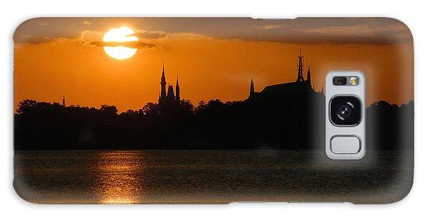 Magic Kingdom Sunset Galaxy Case by David Lee Thompson