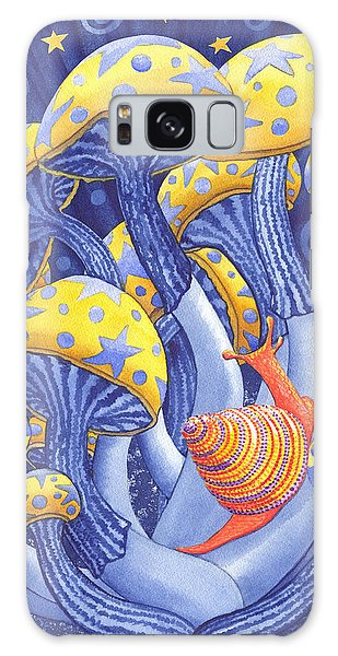 Magic Mushrooms Galaxy Case
