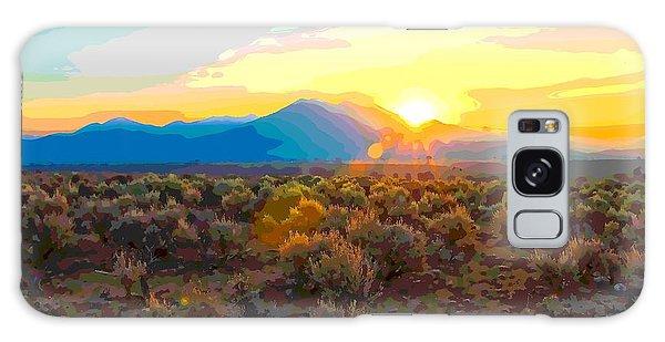 Magic Over Taos Galaxy Case