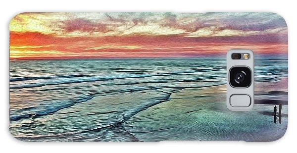 Magic Sunset Color Spectrum Galaxy Case