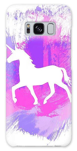 Magician Galaxy S8 Case - Magic Unicorn 1- Art By Linda Woods by Linda Woods