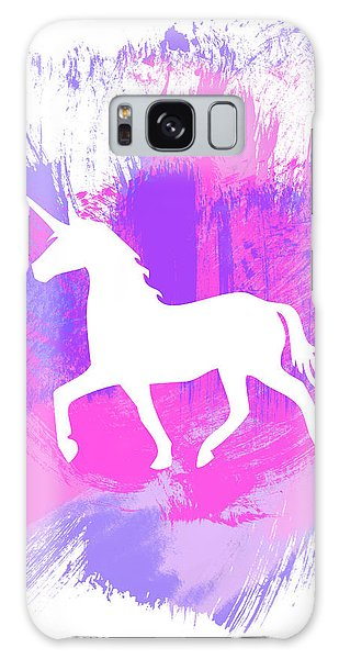 Magician Galaxy Case - Magic Unicorn 1- Art By Linda Woods by Linda Woods