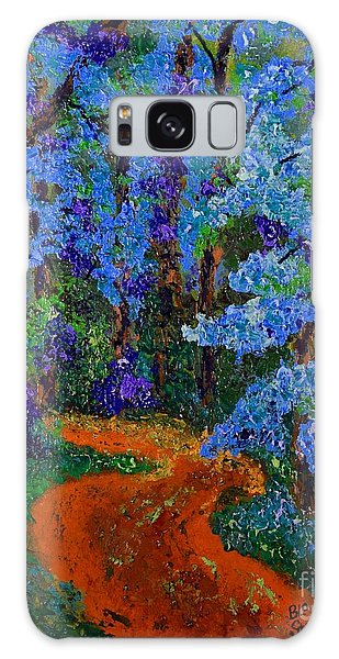 Magical Blue Forest Galaxy Case