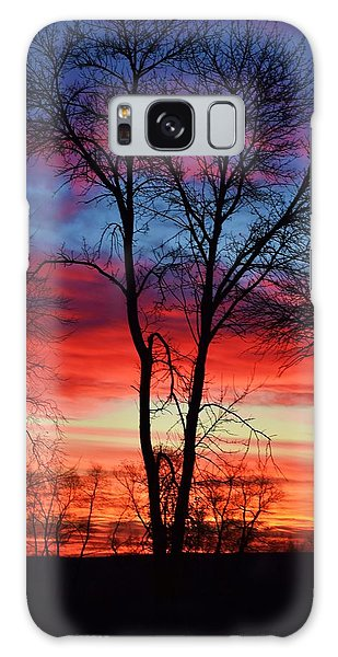 Magical Colors In The Sky Galaxy Case