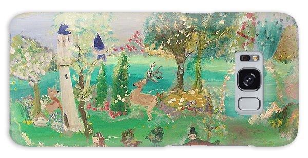 Magical Garden Galaxy Case by Judith Desrosiers