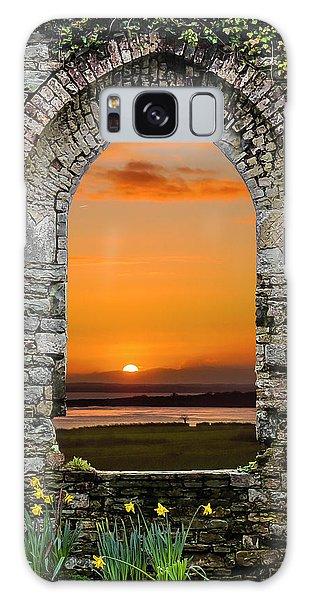 Galaxy Case featuring the photograph Magical Irish Spring Sunrise by James Truett