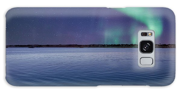 Magical Night By The Seashore Galaxy Case