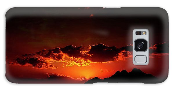 Magical Sunset In Africa 2 Galaxy Case